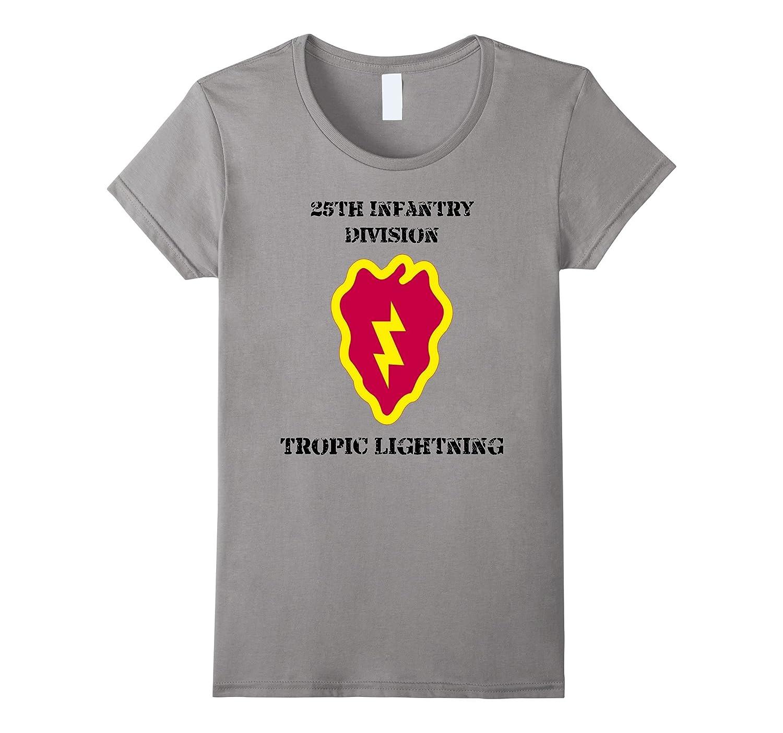 25th Infantry Division Tropic Lightning Army Veteran Shirt