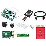 Raspberry Pi3 Model B+ / コンプリートスターターセット (RP3+基板, Case, 高速型MicroSD 32GB, ヒートシンク, 2.4A電源 *PSE適合, USBスイッチケーブル HDMIケーブル)