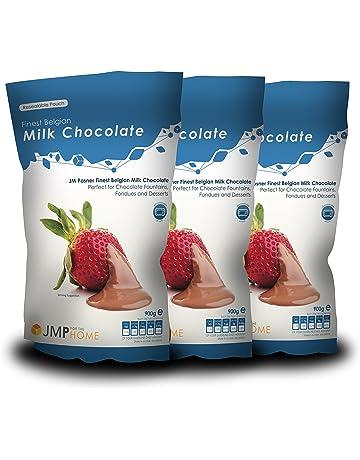 Bolsas de Chocolate con Leche Belga de la Más Alta Calidad 900g x 3 – Fuente