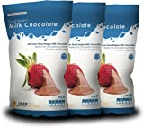 Finest Belgian Milk Chocolate Bags 900g x 3 - Chocolate Fountain Chocolate Perfect for Desserts and Cakes
