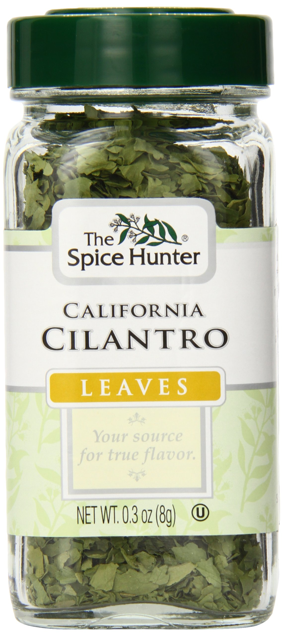 The Spice Hunter California Cilantro, Leaves, 0.30 Ounce Jar (Pack of 48)