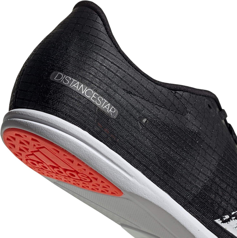 adidas Distancestar W, Scarpe da Ginnastica Donna Core Nero Ftwr Bianco Segnale Corallo