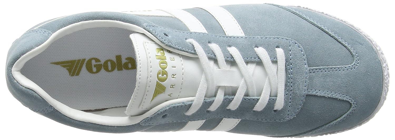 Gola Women's Cla192 Harrier Fashion Sneaker B01M7UD9II 9 B(M) US|Sky Blue/White