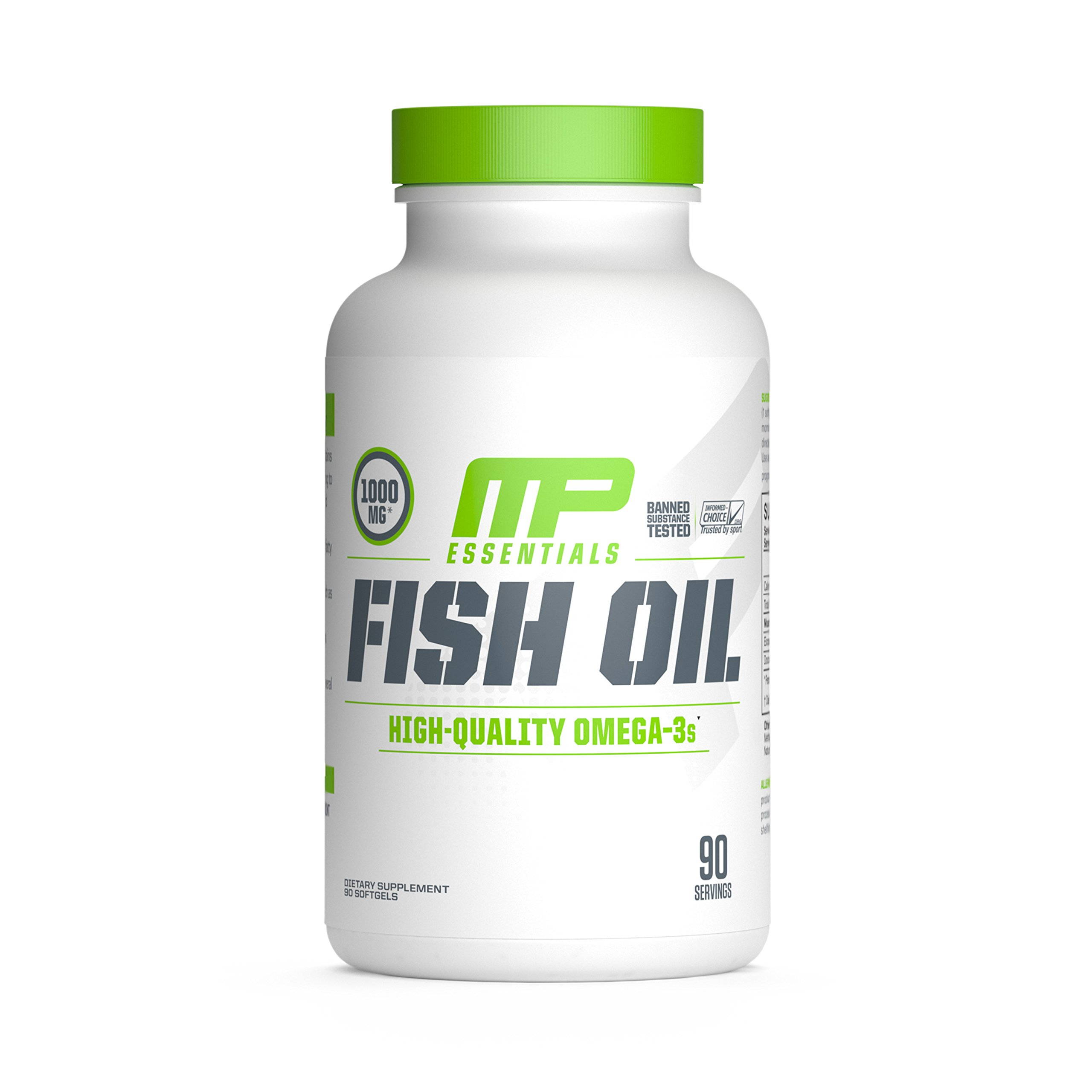 Muscle Pharm Fish Oil Supplement, 90 Count by Muscle Pharm