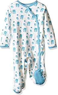 2cb14b1d8ecd Amazon.com  Babysoy Baby Boys  O Soy Footie  Infant And Toddler ...