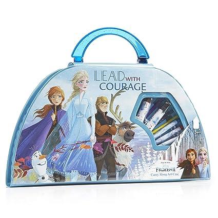 Vanity Coloriage Reine Des Neiges.Disney Frozen 2 Malette Dessin Enfant Avec Anna Et Elsa De