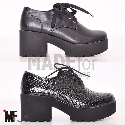separation shoes 304a7 0b622 MADE for shop - Scarpe Donna Francesine Parigine Stringate ...