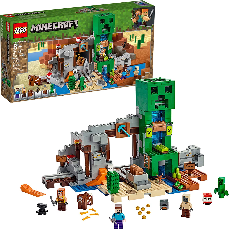 Lego Minecraft A Mina De Creeper 10 Lego Diversas