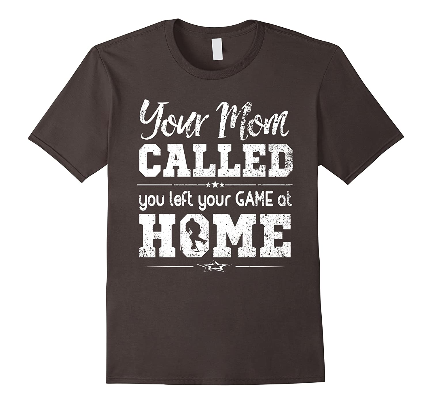 Funny Ice Hockey Shirt You Left Your Game At Home T-Shirt-ANZ