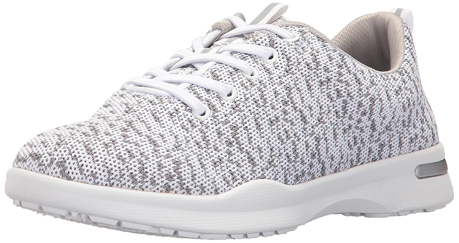 SoftWalk Women's Sampson Sneaker B01M2DK4U4 10 W US|White Knit