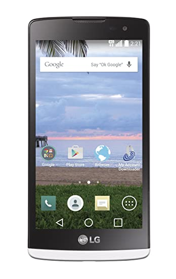 Amazon Com Lg Destiny 4g Android Prepaid Phone Tracfone Cell
