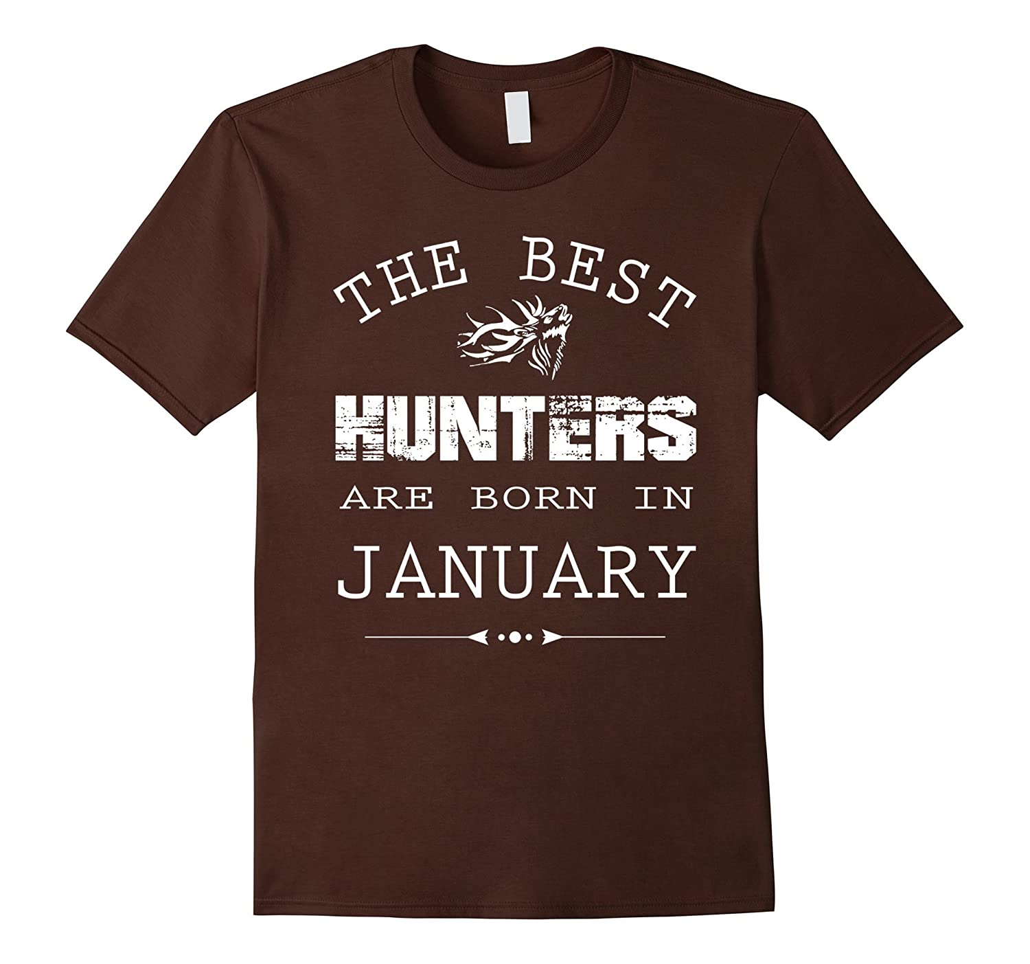 Deer Hunters are born in January - Funny Birthday T-shirt-CD