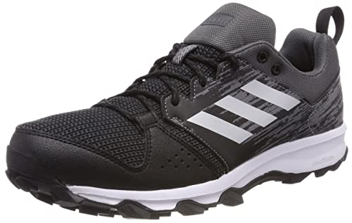 eb51ec867548 adidas Men s s Galaxy Trail Running Shoes Core Black Matte Silver Carbon