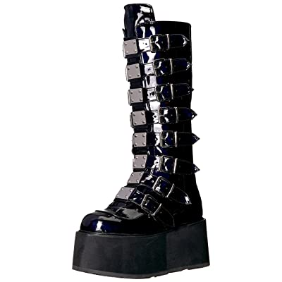 Demonia Women's Damned-318 Knee High Boot | Knee-High