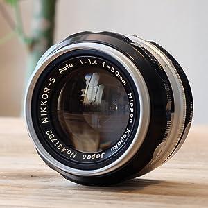 Nippon Kogaku Japan Nikon 50mm f/1.4 f1.4 Nikkor-S non-AI manual focus lens