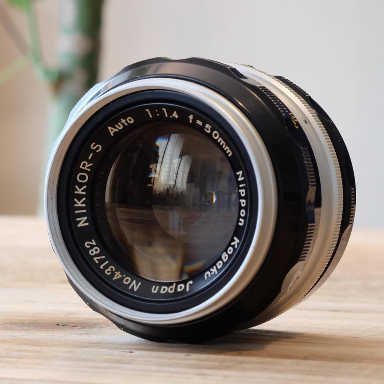 Nippon Kogaku Japan Nikon 50mm F 14 F14 Nikkor S Non Lensa Yongnuo Afs F18 Yn Fix Bokeh Ai Manual Focus Lens Camera Lenses Photo