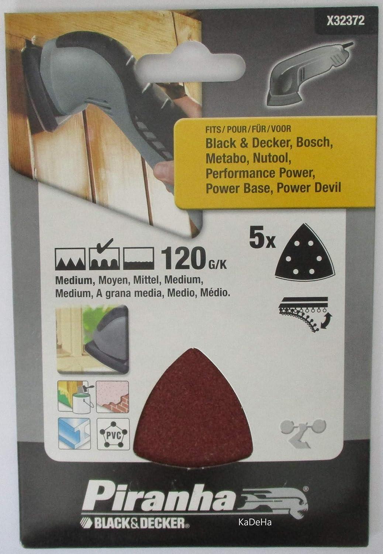 120 g Set of 5 Piranha Detail Sheet