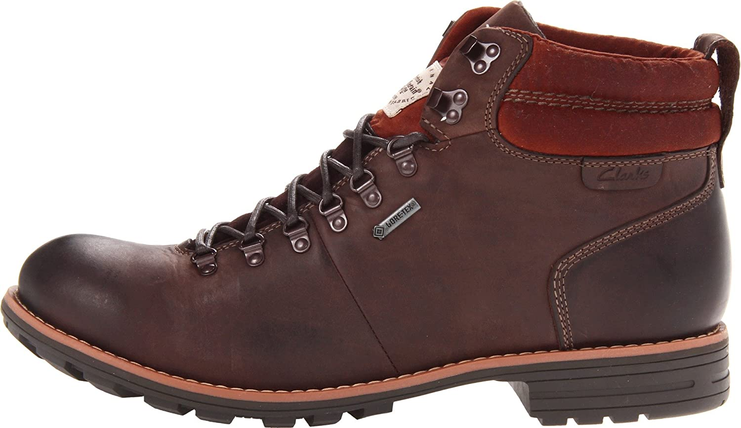 Clarks 66183 Mens Midford Alp Leather Brown Lea 13 M/UK 12: Amazon.co.uk:  Shoes & Bags