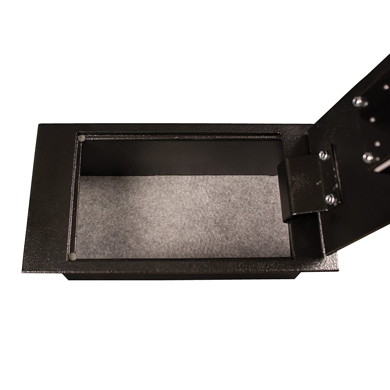 Amazon.com: Tracker Safe Acero Floor, Key Lock, Negro polvo ...