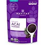 Navitas Organics Acai Powder, 8 oz. Bag — Organic, Non-GMO, Freeze-Dried, Gluten-Free