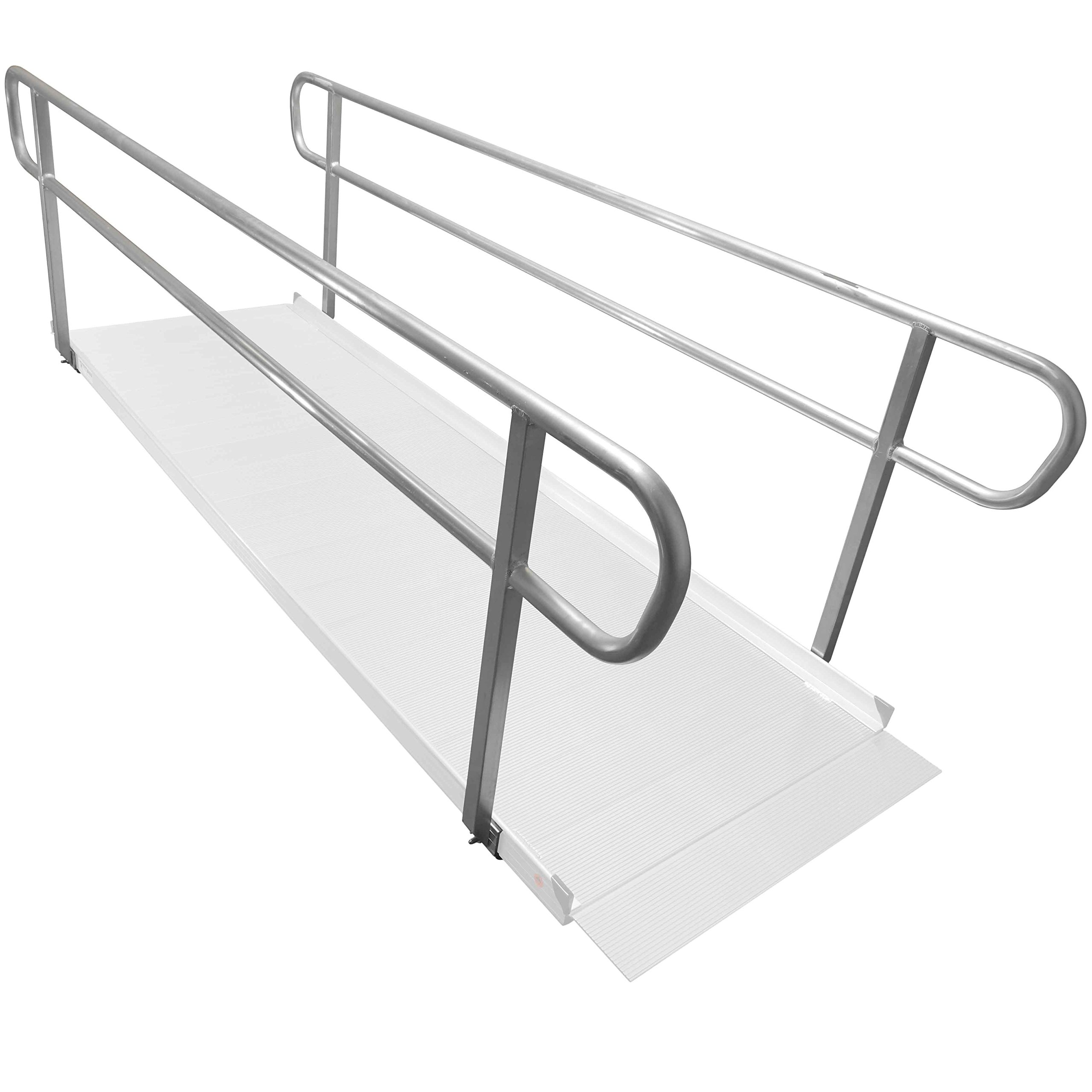 Titan 10' Wheelchair Entry Ramp Handrails Only