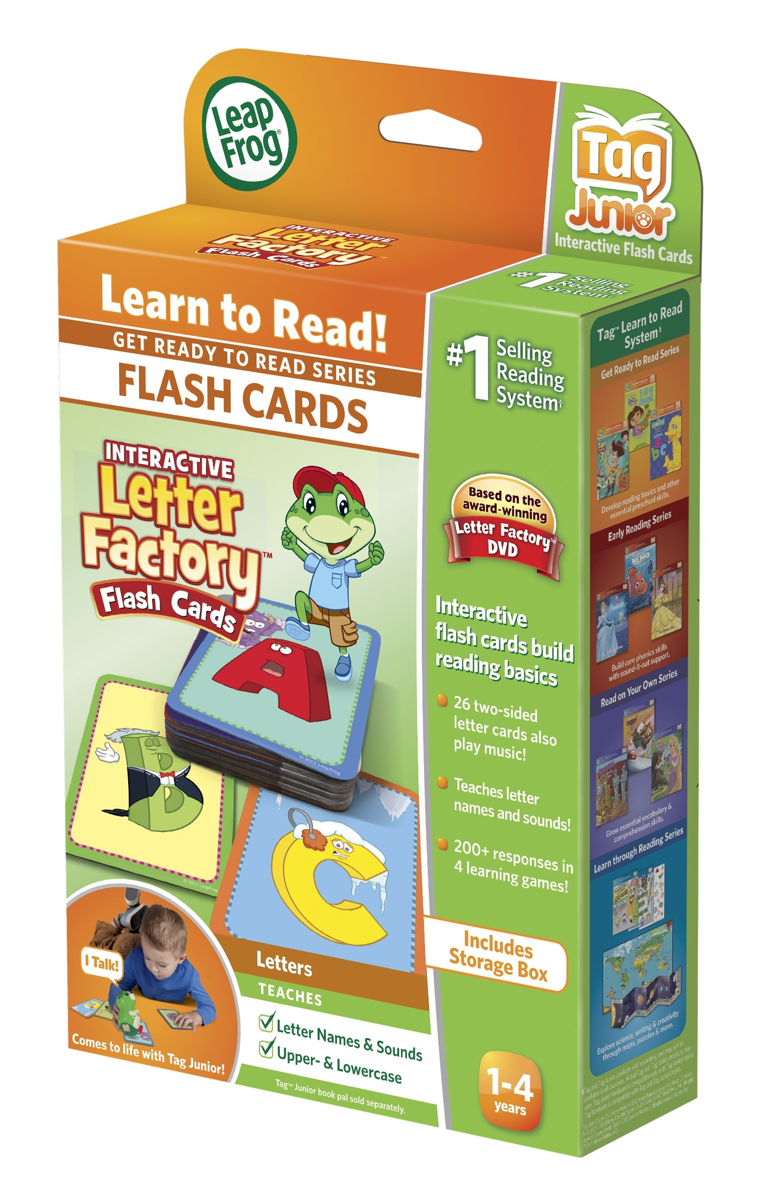 LeapFrog LeapReader Junior Interactive Letter Factory Flash Cards (works with Tag Junior) by LeapFrog (Image #7)