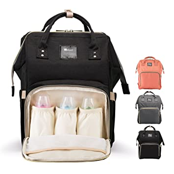 Amazon.com   Diaper Bag Backpack for Baby Care 3ad77384481f