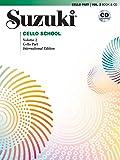 Suzuki Cello School Cello Part & CD, Volume 2 (Revised Edition)