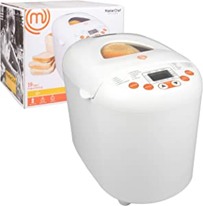 MasterChef Bread Maker- 2-Pound Programmable Machine w 19 Settings