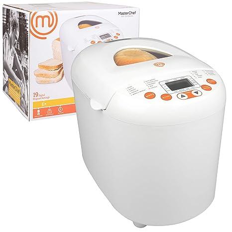 Amazon.com: MasterChef - Máquina programable de 2 libras con ...