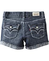 Levi's Big Girls' Taryn Thick Stitch Shorty Short