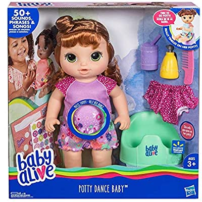 Potty Dance Baby Exclusive (Red Curly Hair): Toys & Games