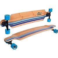 HUDORA Longboard Black's Beach - ABEC 7 - Skateboard - 12810