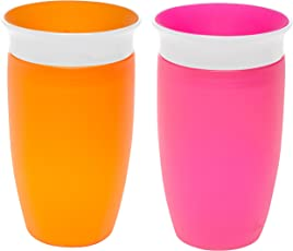 Munchkin Miracle 360 Vaso para niños, 295 ml, 2 unidades