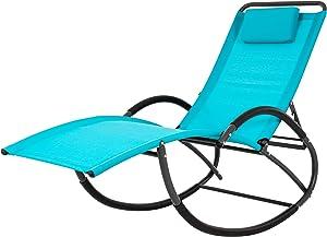Vivere WAVELAZE-TT Lounger, Turquoise