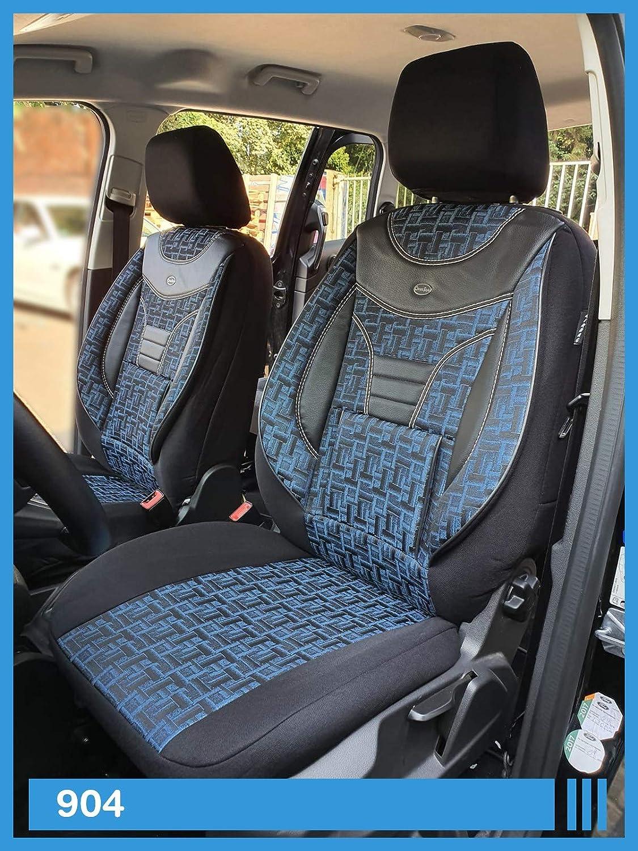 Maß Sitzbezüge Kompatibel Mit Mercedes V Klasse W447 Fahrer Beifahrer Farbnummer 904 Baby