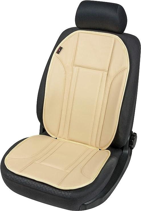 Walser 11277 Sitzaufleger Aus Kunstleder Universal Sitzauflage Autositzaufleger In Beige Autositzauflage Ravenna Auto