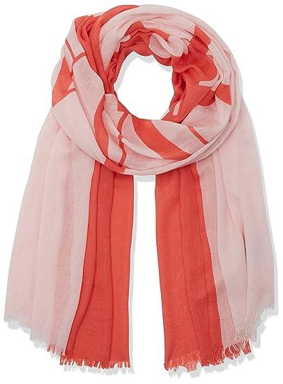5a44607ab0f4 Emporio Armani Women s 9241417P069 Scarf, Multicolour (New Pink LT GERAN),  One