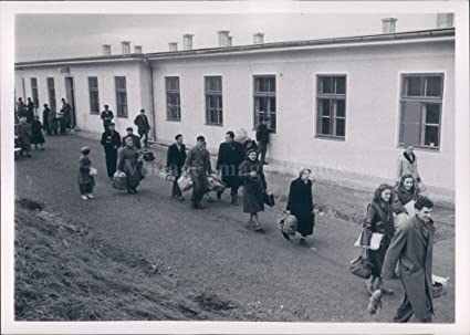 Amazon com: Vintage Photos 1957 Photo Hungarian Refugee Bus