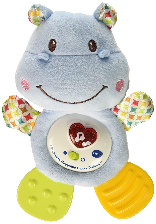 VTech Lil' Critters Huggable Hippo Teether (English Version) V Tech 80-502500