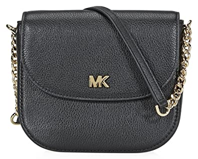 0e6a22bd76b0 ... shop michael kors mott crossbody bag black 08224 8ca8f