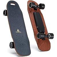 Elwing • Skateboard Electrique • Nimbus • Nouvelle Version 2019 • 4,9Kg • avec Télécommande • jusqu'à 32Km/h • 500 Watts • 100Kg Max • en Bois d'érable • Couleur Noir