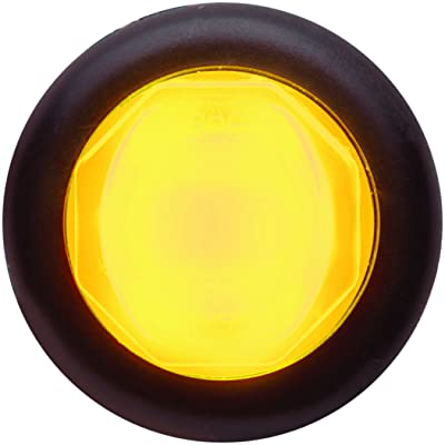 "Optronics MCL112AKBP MCL112 Series Amber 3/4"" Sealed Marker/Clearance LED (With Grommet Glolight): Automotive"