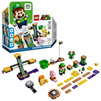 LEGO Super Mario Adventures with Luigi Starter Course 71387 Building Kit; Collectible Toy Playset for Creative Kids, New 2021 (280 Pieces)