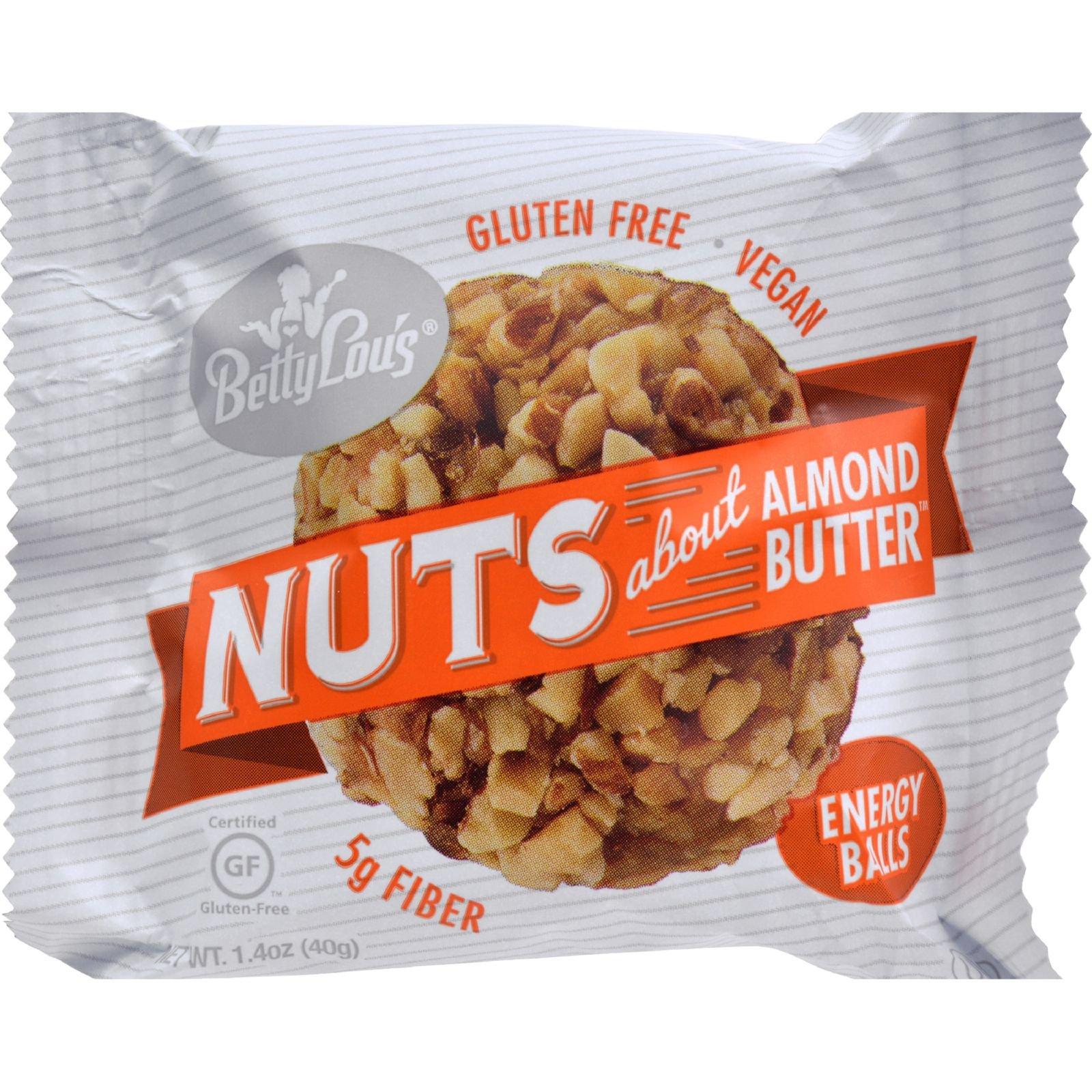 Betty Lous Nut Butter Balls - Almond Butter - 1.4 oz - 40 ct