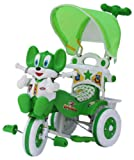 Amardeep Baby Tricycle with Parental Control, Green