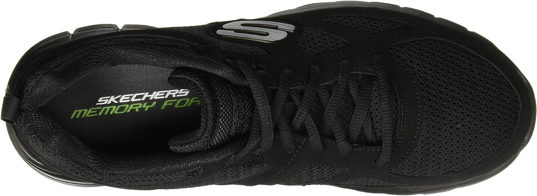 Skechers Track Bucolo, Chaussures de Running Homme Noir