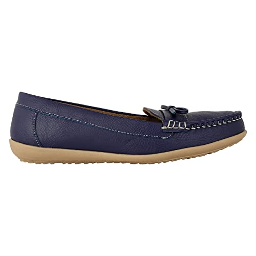 c20cc5e138e Good Quality Women s Comfortable Blue Formal Casual Loafers Belly Bellies  by Saasha  Buy Online at Low Prices in India - Amazon.in