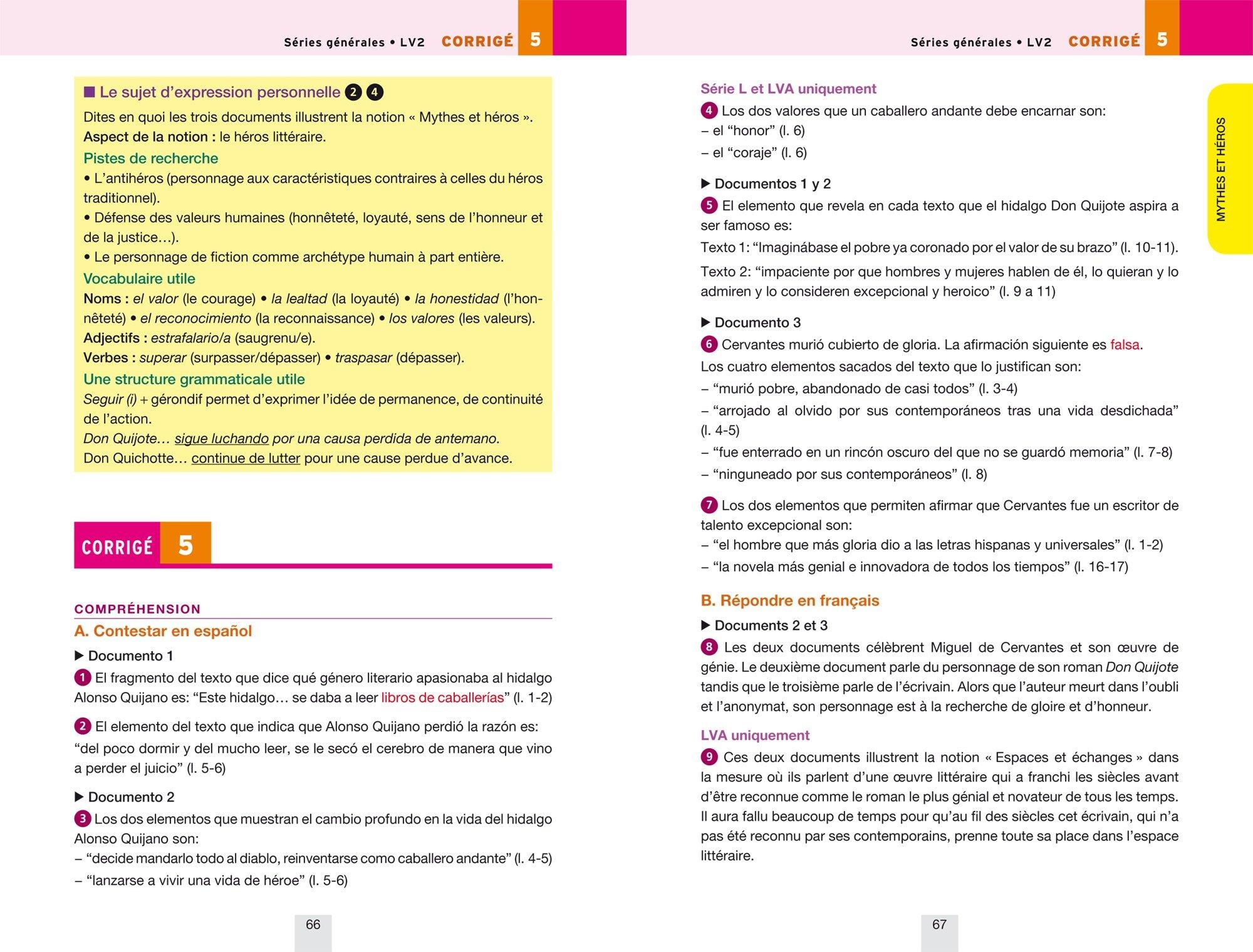 Annales Annabac 2018 Espagnol Tle LV1 et LV2: sujets et corrigés du bac Terminale toutes séries: Amazon.es: Jean-Yves Kerzulec, Tania Saenz: Libros en ...