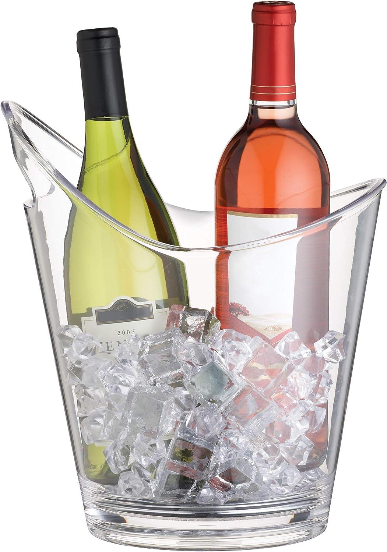 Bar Craft Cubitera para Botellas, Transparente